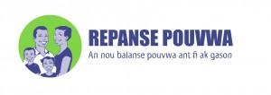 Repanse Pouvwa logo - koulè